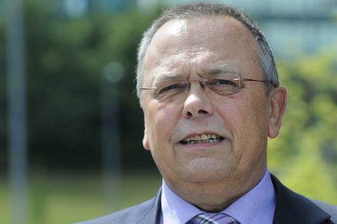 Voorzitter Pedro Peters van OV-NL, foto: ANP