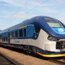 České Dráhy train in Tsjechië