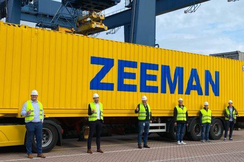 Goederenvervoer per spoor Zeeman