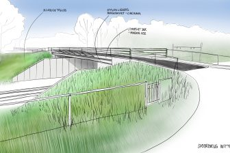 De plannen voor de vernieuwing van spoorbrug Witte Paarden