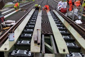 De Wilde Spoorwegbouw vernieuwt spoor op Haarlemse bruggen