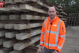 Akkie Stomphorst, manager hergebruik bij Voestalpine Railpro