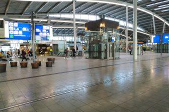 Station Utrecht Centraal tijdens de coronacrisis