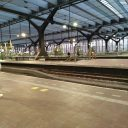 Station Rotterdam Centraal tijdens de coronacrisis