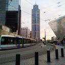 Tram RET bij station Rotterdam Centraal