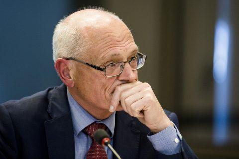 Topman Gerard Sanderink van Strukton, foto: ANP