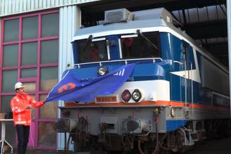Onthulling omgekleurde 1700-locomotief VolkerRail