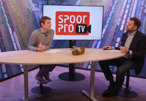 SpoorProTV 3 feb Reinout Wissenburg