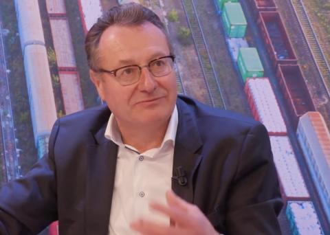 Luc Vansteenkiste van Railnet Europe