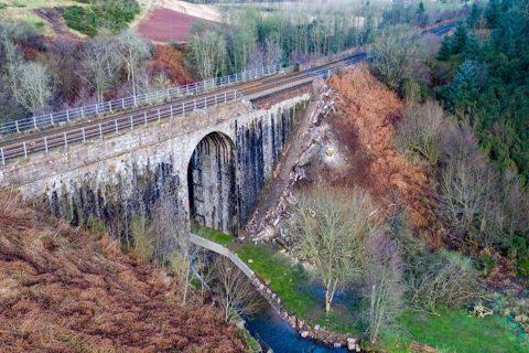 De spoorbrug in Stonehaven is heropend, bron: Network Rail