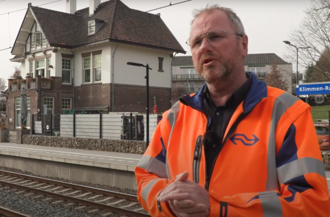 Ron Lenssen, stationsmanager NS