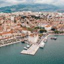 Split aan de Kroatische kust