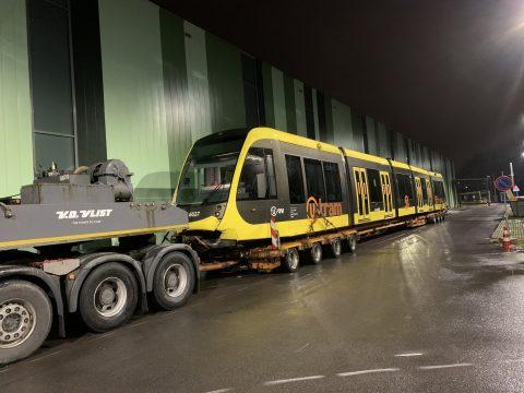 ontspoorde tram Uithoflijn