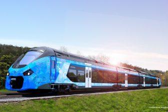 Hybride waterstof-elektrische trein Alstom