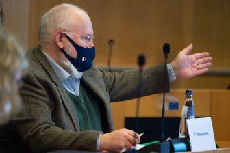 Frans Timmermans klimaatakkoord