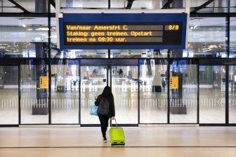 Deels geen treinen rond Amsterdam door staking, foto: ANP