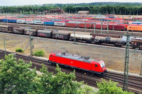Rangeerterrein Maschen in Duitsland, bron: Deutsche Bahn AG / Volker Emersleben