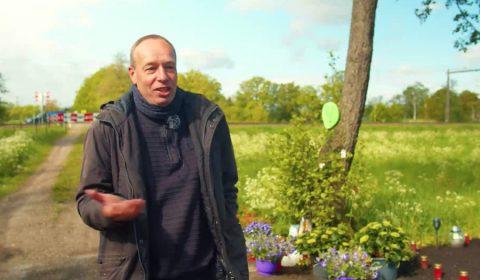 Wim Hagman, vader van de 21-jarige maaltijdbezorger die op een overweg in Zenderen om het leven kwam