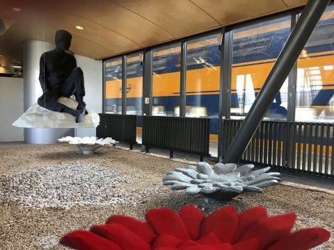 Kunst op station, foto: NS