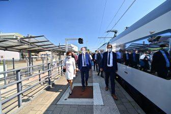 Elektrische trein Mol-Hamond