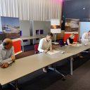 Ondertekening contract groot onderhoud Schiphol