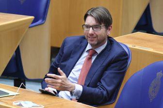 Steven van Weyenberg, D66-kamerlid, foto: ANP