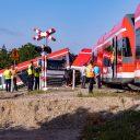 Een trein van DB Regio ontspoorde in Polen, foto: ANP