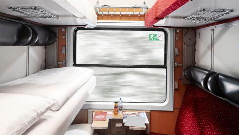 European Sleeper, cabine nachttrein