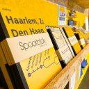 Pop-up store met treinmaterialen, foto: Arno Leblanc/NS