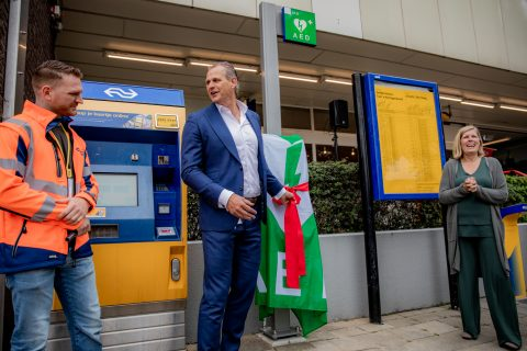 Onthulling AED Station Culemborg