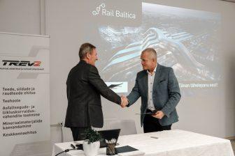 Ondertekening contracten voor overwegen en viaducten Rail Baltica