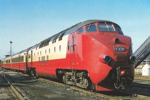 Trans Europ Expres uit 1957