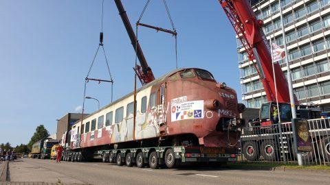 Trans Europ Express bij het Nederlands Transport Museum in Nieuw-Vennep