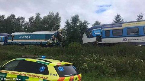 treinbotsing Tsjechië
