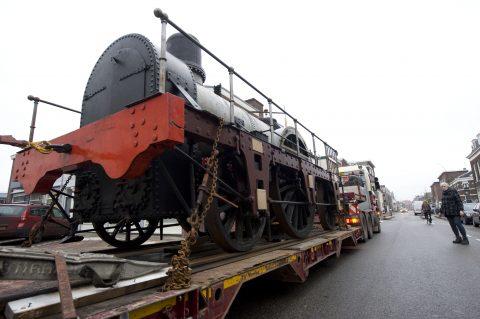 De Arend, een historische stoomlocomotief, foto: ANP