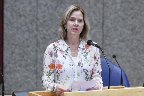 Oud-minister Cora van Nieuwenhuizen, foto: ANP
