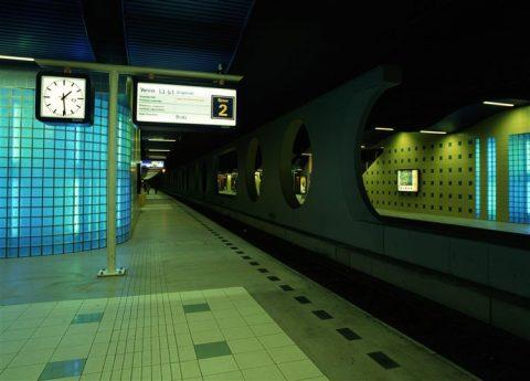 Spoortunnel station Blaak