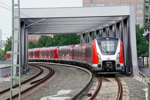 S-Bahn Hamburg-Baurei
