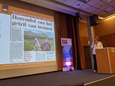 Onderzoeker Elise van Kempen van het RIVM