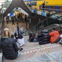 Reizigers zijn gestrand op Rotterdam Centraal vanwege een telefoniestoring bij ProRail