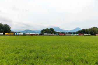 goederentrein Rijn-Alpencorridor