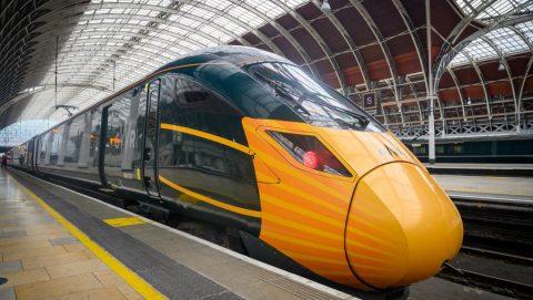 Hitachi Class-800 Paddington-station-